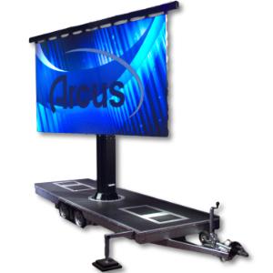 LED Screen Trailer